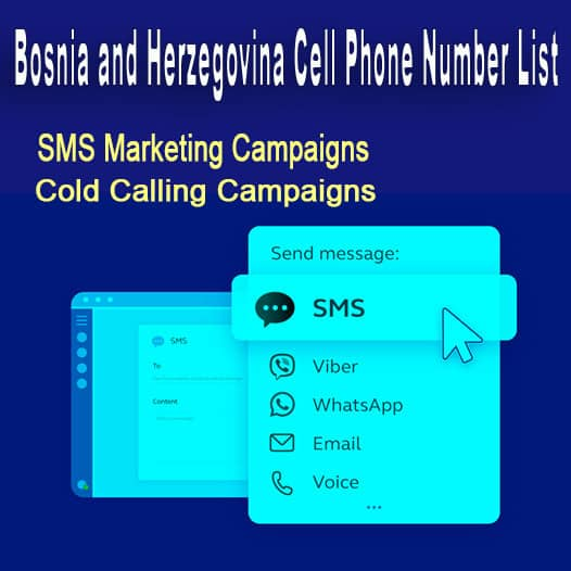Bosnia and Herzegovina Cell Phone Number List