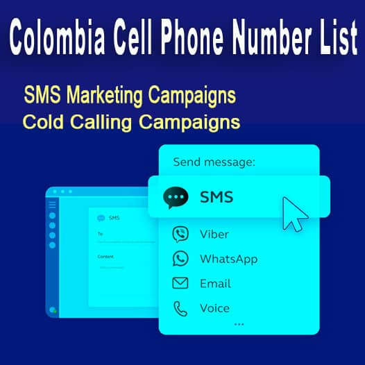 Colombia Cell Phone Number List