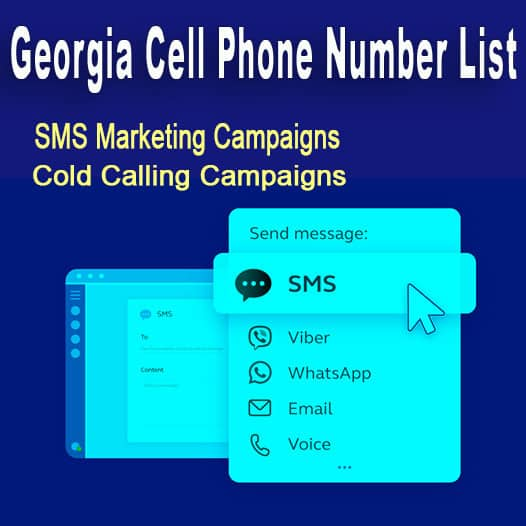 Georgia Cell Phone Number List