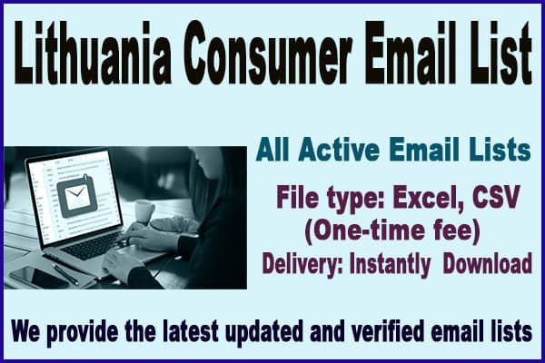 Lithuania Consumer Email List